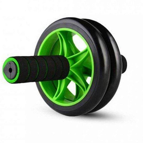 Roda Abdominal Dupla Wheel Balance Poker