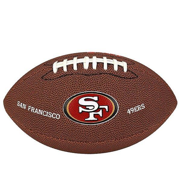 Bola Futebol Americano Wilson San Francisco 49ers JR