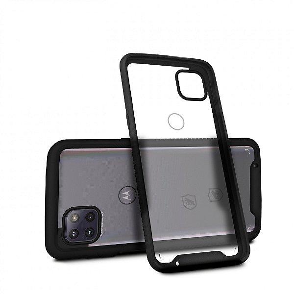 Capa Stronger Preta para Motorola Moto G 5G - Gshield