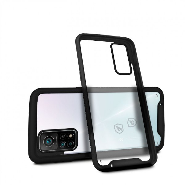 Capa Stronger Preta para Xiaomi Mi 10t - Gshield