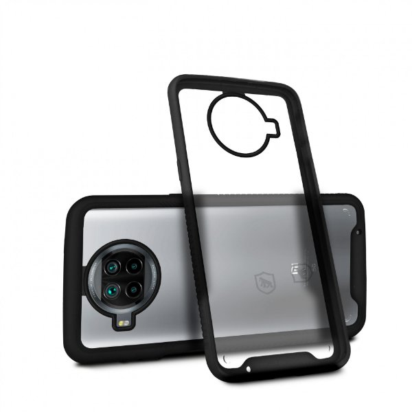 Capa Stronger Preta para Xiaomi Mi 10t Lite - Gshield