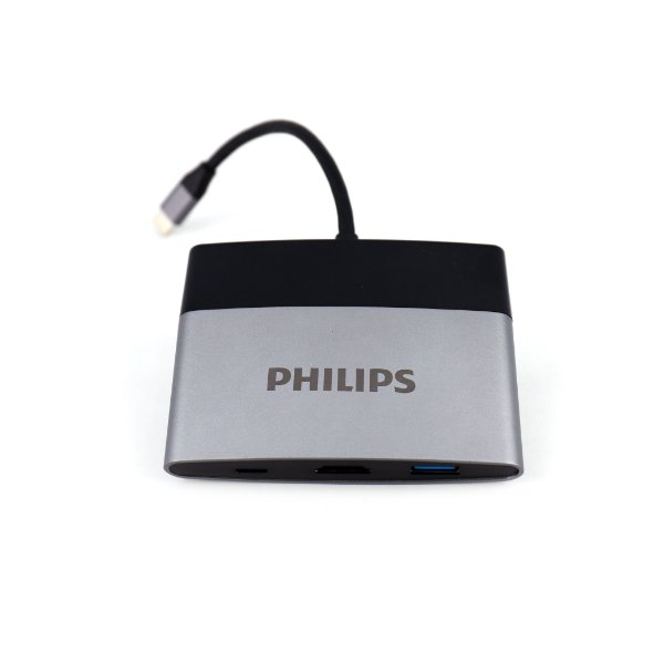Adaptador Multifunções Tipo C 5 em 1 - para HDTV - Hdmi / USB 3.0