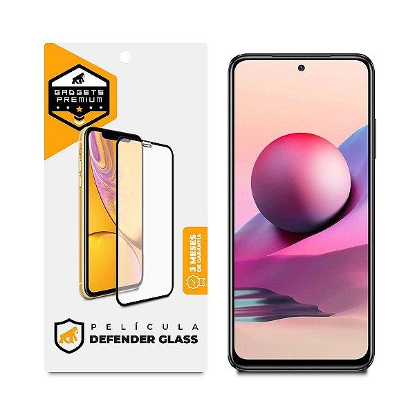 Película Defender Glass para Xiaomi Note 10S - Preta - Gshield