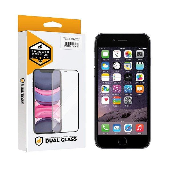 Película Dual Glass para iPhone 6 - Preto - Gshield