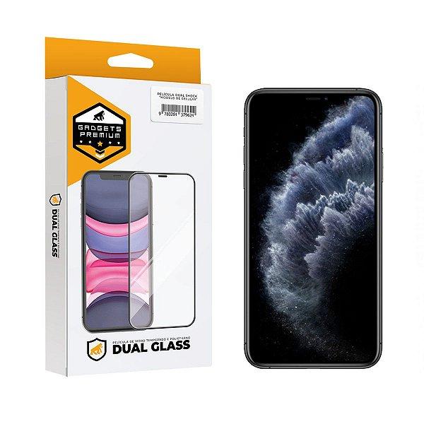 Película Dual Glass para iPhone 11 Pro Max / XS Max - Preto - Gshield