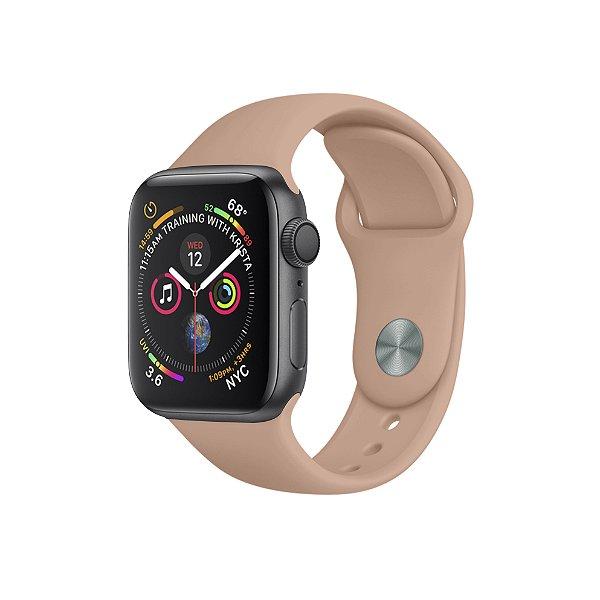 Pulseira Para Apple Watch 42mm / 44mm Ultra Fit - Rosa Areia - Gshield