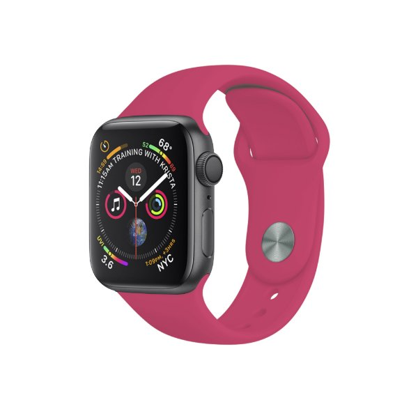 Pulseira Para Apple Watch 42mm / 44mm Ultra Fit - Rosa Chiclete - Gshield