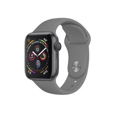 Pulseira Para Apple Watch 38mm / 40mm Ultra Fit - Cinza - Gshield