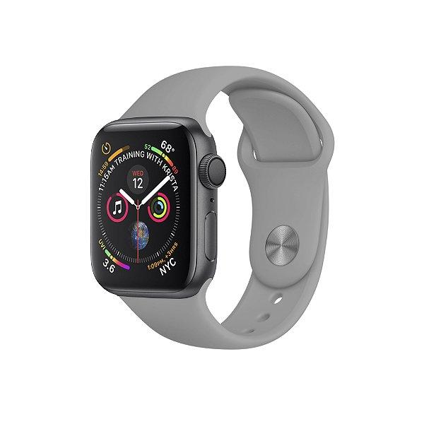 Pulseira Para Apple Watch 38mm / 40mm Ultra Fit - Cinza Claro - Gshield