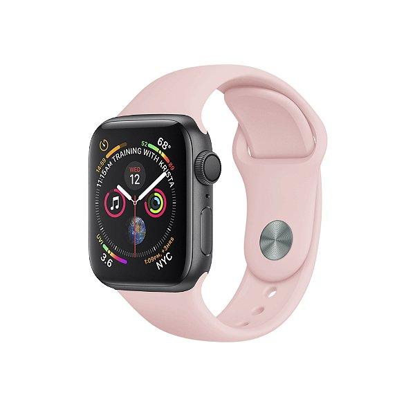 Pulseira Para Apple Watch 38mm / 40mm Ultra Fit - Rosa Claro - Gshield