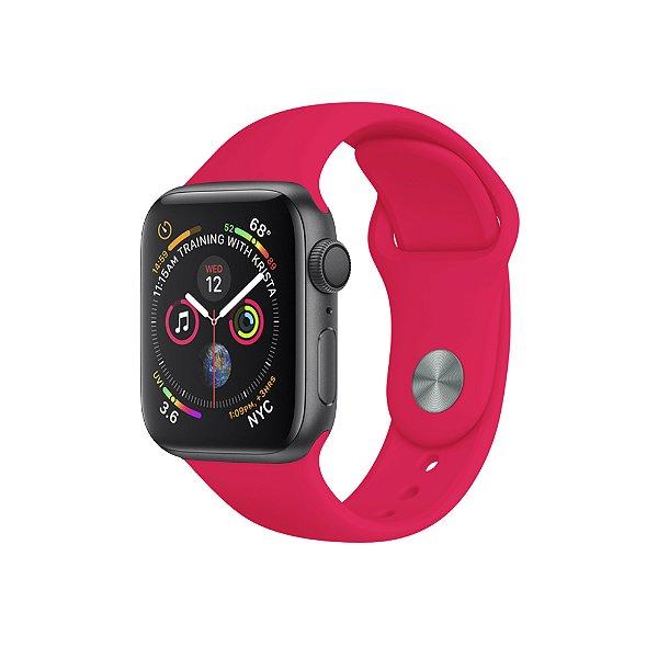 Pulseira Para Apple Watch 38mm / 40mm Ultra Fit - Rosa Neon - Gshield