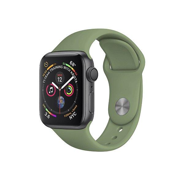 Pulseira Para Apple Watch 38mm / 40mm Ultra Fit - Verde Claro - Gshield