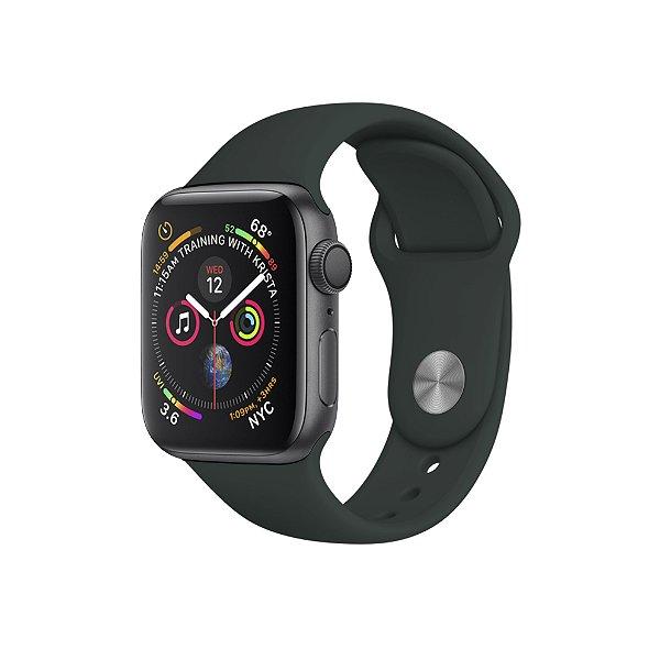 Pulseira Para Apple Watch 38mm / 40mm Ultra Fit - Verde Meia Noite - Gshield