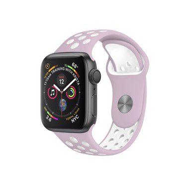 Pulseira para Apple Watch 38mm/40mm - Armor Running - Rosa e Branco - Gshield