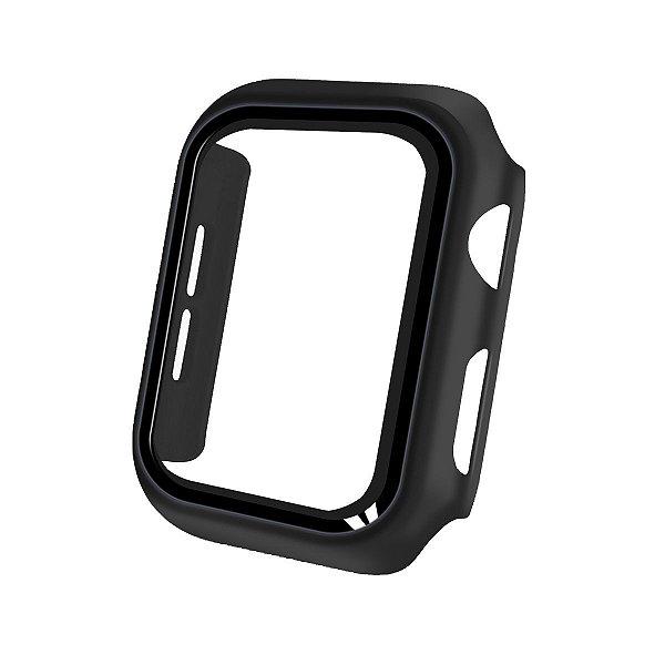 Case Armor para Apple Watch 38MM- acompanha película integrada na case - Preta - Gshield