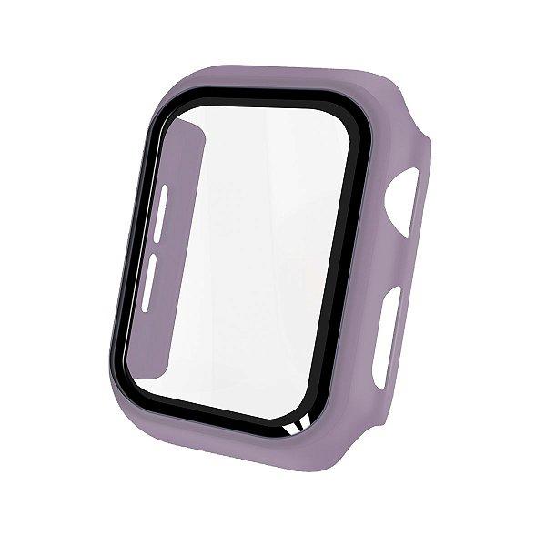Case Armor Para Apple Watch 38MM - acompanha película integrada na case - Lilas - Gshield