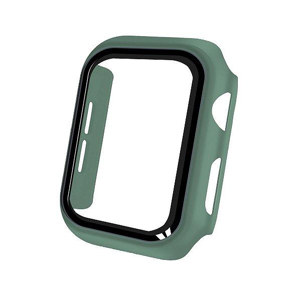 Case Armor para Apple Watch 42MM - acompanha película integrada na case - Verde - GshIeld