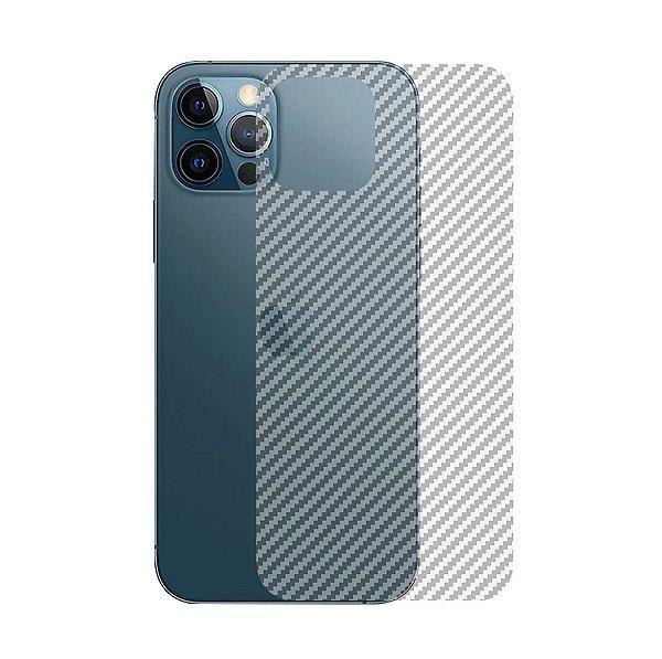 Película Traseira de Fibra de Carbono para iPhone 12 Pro Max - Gshield