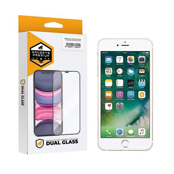Película Dual Glass para iPhone 6s Plus - Branca - Gshield