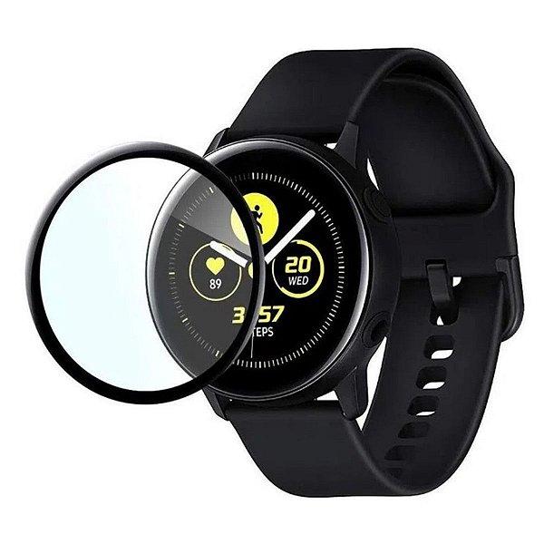 Película Coverage 5D Pro Preta para Samsung Watch Active 2 44M - Gshield
