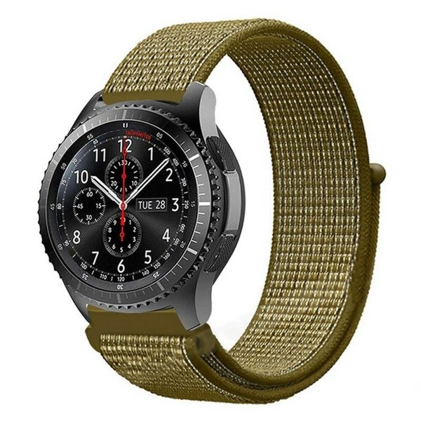 Pulseira Universal Ballistic Para Relógio 22mm - Verde Olivia - Gshield