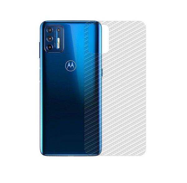 Película Traseira de Fibra de Carbono para Motorola Moto G10 - Gshield