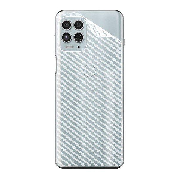 Película Traseira de Fibra de Carbono para Motorola Moto G100 - Gshield