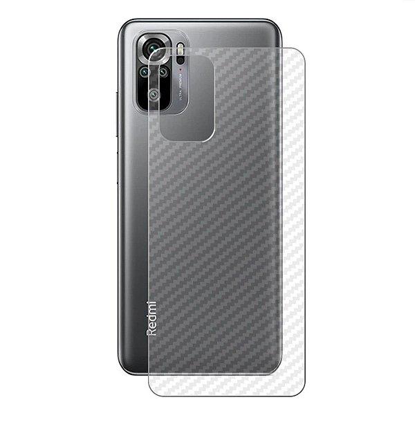 Película Traseira de Fibra de Carbono para Xiaomi Redmi Note 10 4G - Gshield