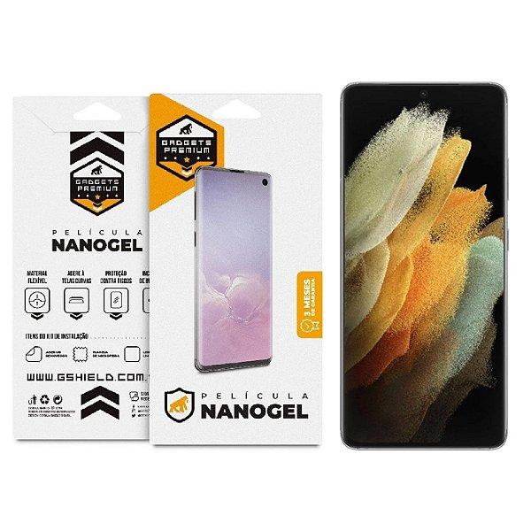 Película de Nano Gel Dupla para Samsung Galaxy S21 Ultra - Gshield
