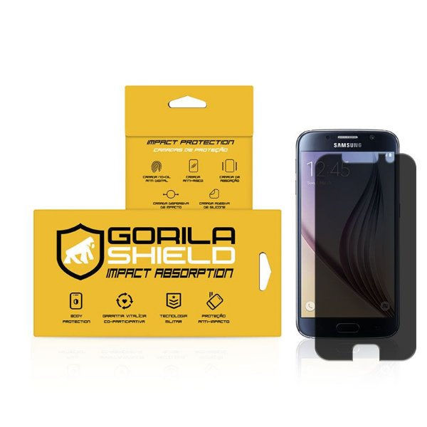 Película Privacidade para Samsung Galaxy S6 - Gorila Shield
