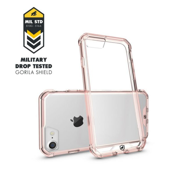 Capa Ultra Slim Air Rosa para Iphone 7 e 8 - Gorila Shield