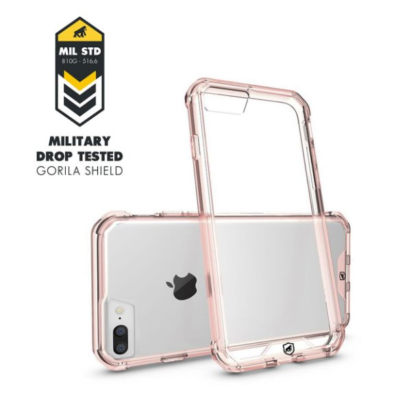Capa Ultra Slim Air Rosa para Iphone 7 Plus / 8 Plus - Gorila Shield