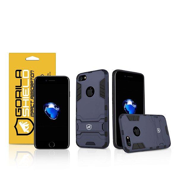 Kit Capa Armor e Película de Privacidade para iPhone 7 - Gorila Shield