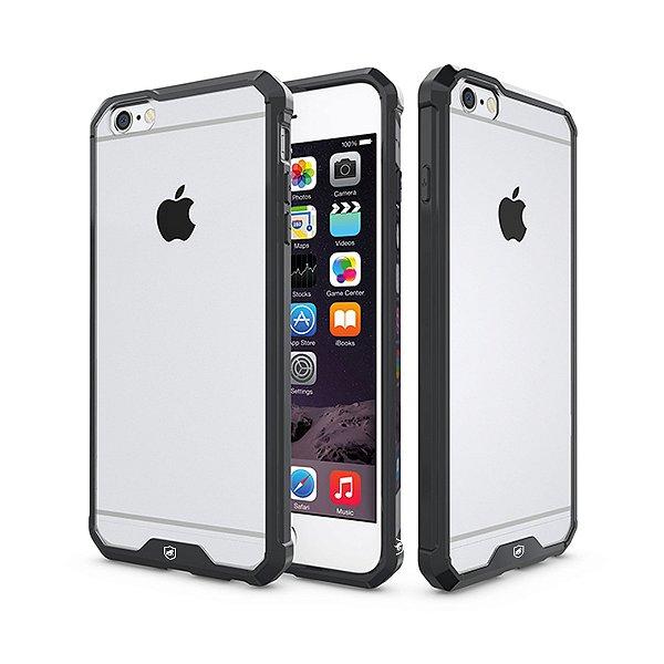 Capa Ultra Slim Air Preta para Iphone 6 e 6S - Gorila Shield