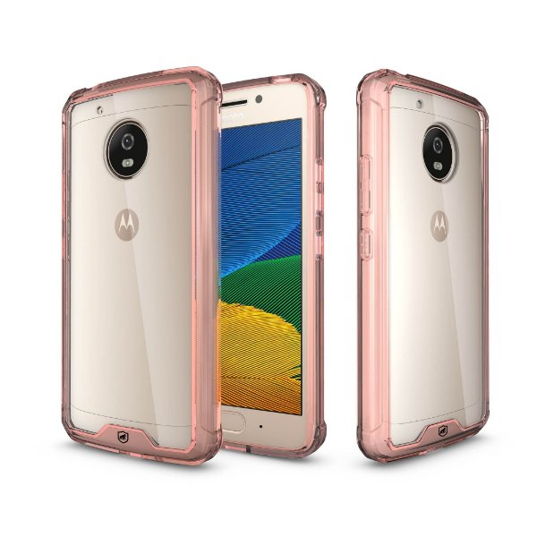Capa Ultra Slim Air Rosa para Motorola Moto G5 Plus - Gorila Shield