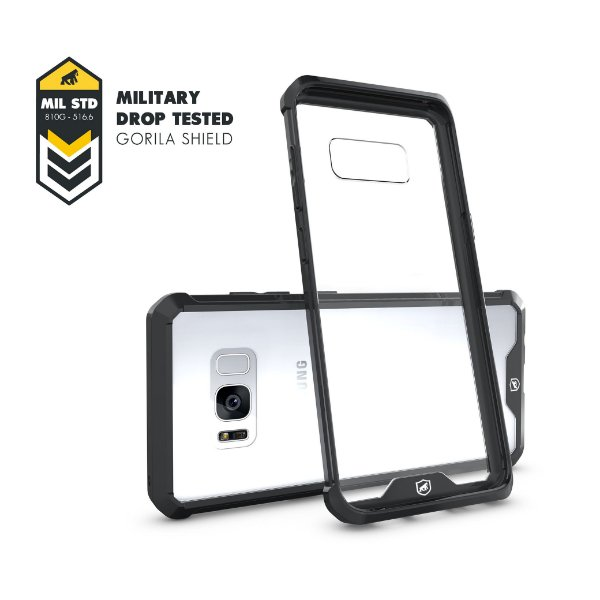 Capa Ultra Slim Air Preta para Samsung Galaxy S8 Plus - Gorila Shield
