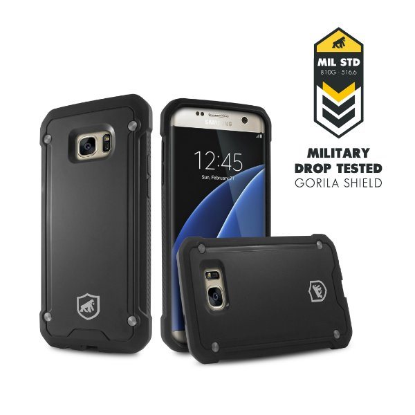 Capa Black Shield para Samsung Galaxy S7 - Gorila Shield