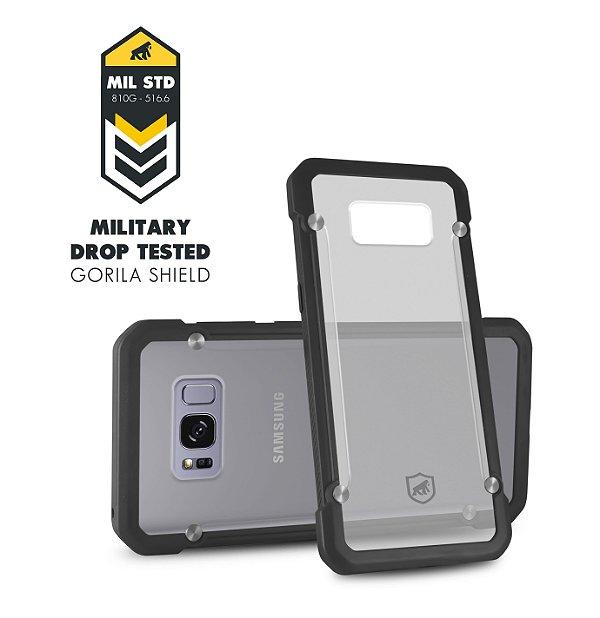 Capa Grip Shield para Samsung Galaxy S8 - Gorila Shield