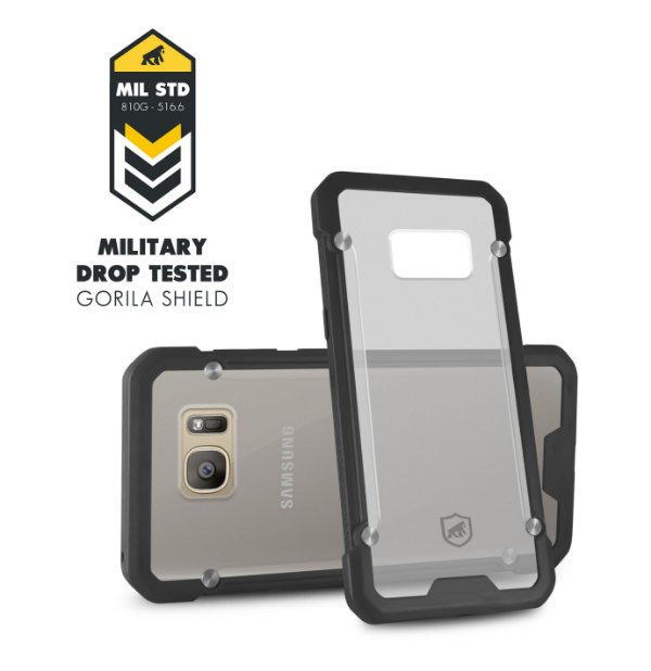 Capa Grip Shield para Samsung Galaxy S7 Flat  - Gorila Shield