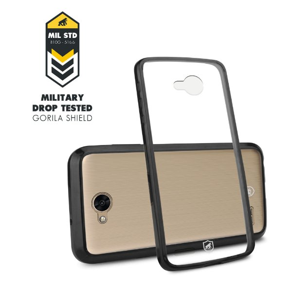 Capa Ultra slim Air Preta para LG K10 Power - Gorila Shield