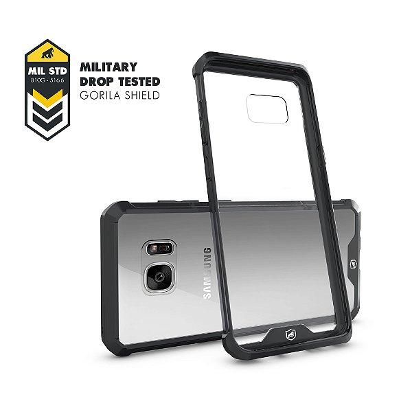 Capa Ultra Slim Air Preta para Samsung Galaxy S7 Flat - Gorila Shield