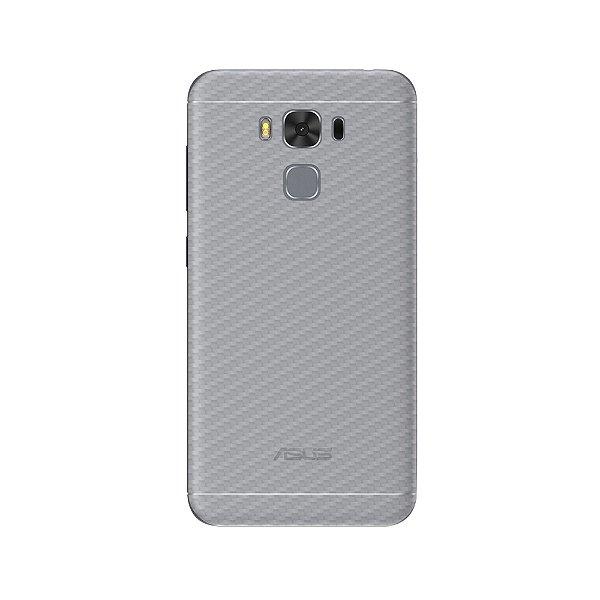 Película Traseira de Fibra de Carbono Transparente para Asus Zenfone 3 Max 5.5 ZC553KL - Gshield