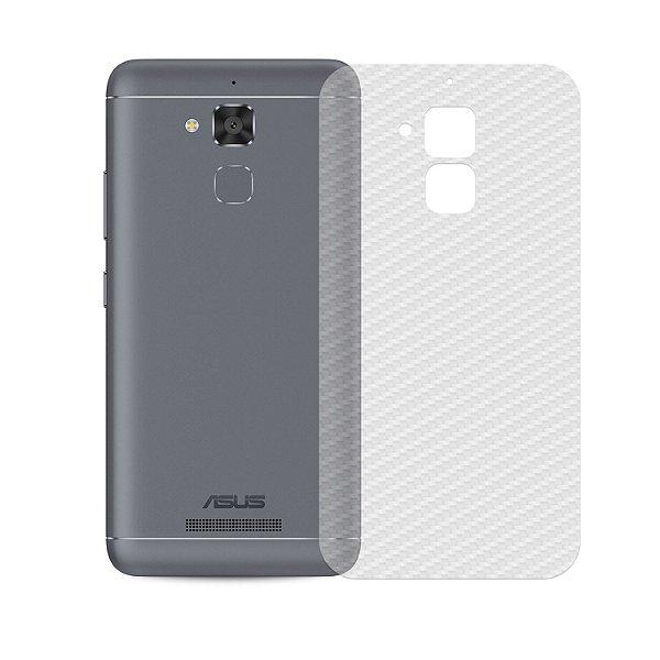 Película Traseira de Fibra de Carbono Transparente para Asus Zenfone 3 Max 5.2 - Gshield