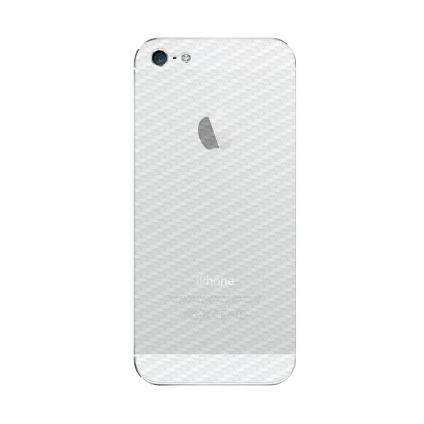 Película Traseira de Fibra de Carbono Transparente para Iphone 5 , 5s , SE - Gorila Shield
