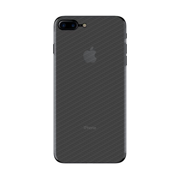 Película Traseira de Fibra de Carbono Transparente para Iphone 7 Plus - Gorila Shield