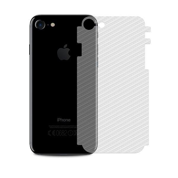 Película Traseira de Fibra de Carbono Transparente para iPhone 7 - Gshield