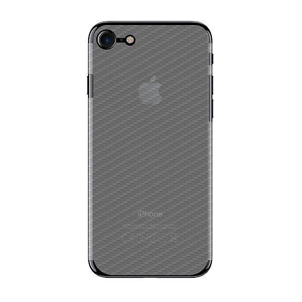 Película Traseira de Fibra de Carbono Transparente para Iphone 7 - Gorila Shield