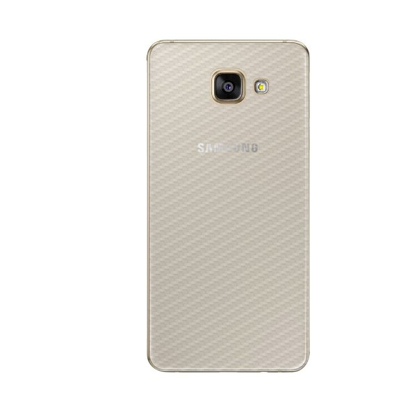 Película Traseira de Fibra de Carbono Transparente para Samsung Galaxy A5 2016 - Gorila Shield