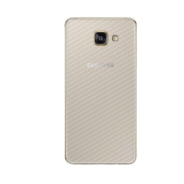 Película Traseira de Fibra de Carbono Transparente para Samsung Galaxy A7 2017 - Gorila Shield