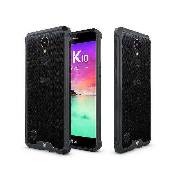 Capa Ultra Slim Air Preta para LG K10 2017 - Gshield